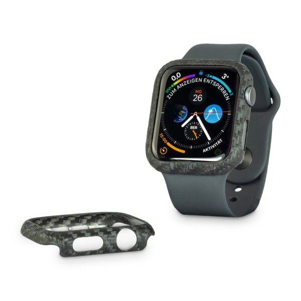 Carbon Cover Apple Watch 4/5/6 44mm